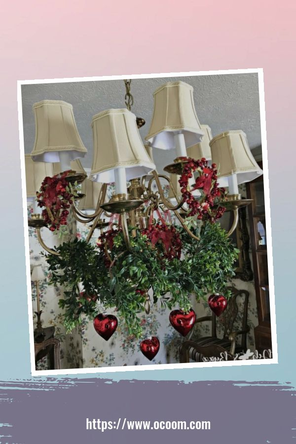 20+ Fabulous Red Home Decor Ideas For Valentines Day 14