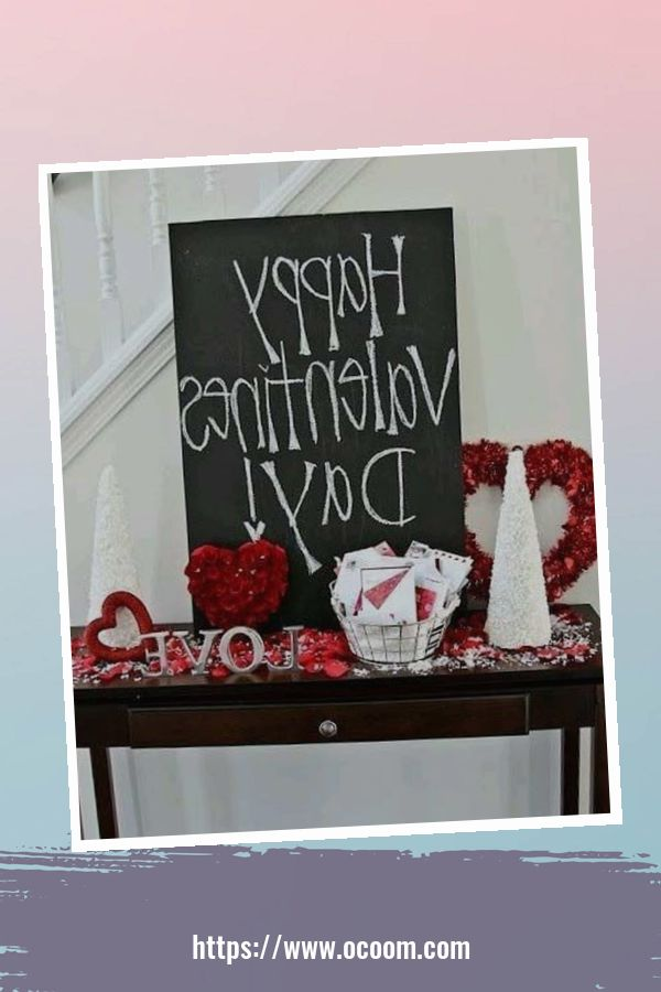 20+ Fabulous Red Home Decor Ideas For Valentines Day 2