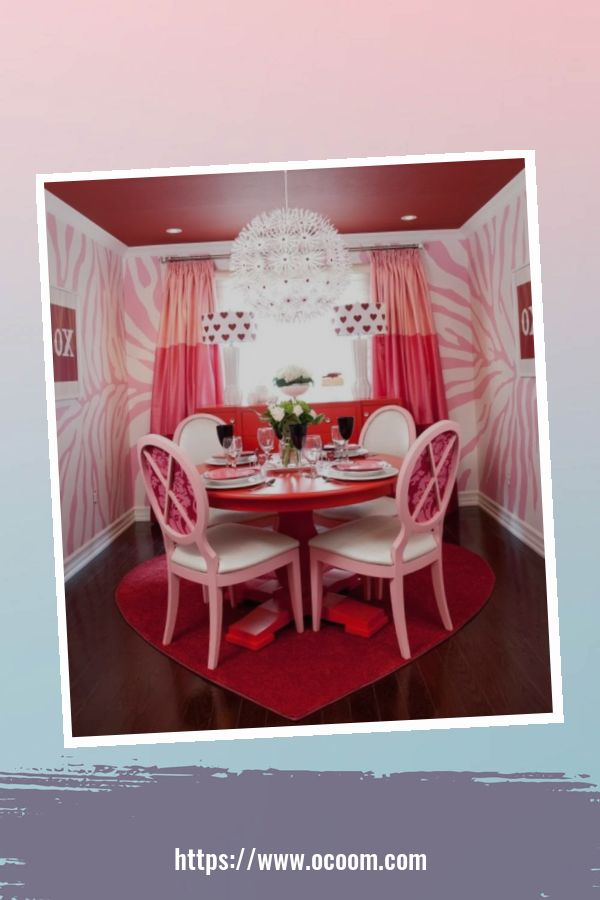 20+ Fabulous Red Home Decor Ideas For Valentines Day 3