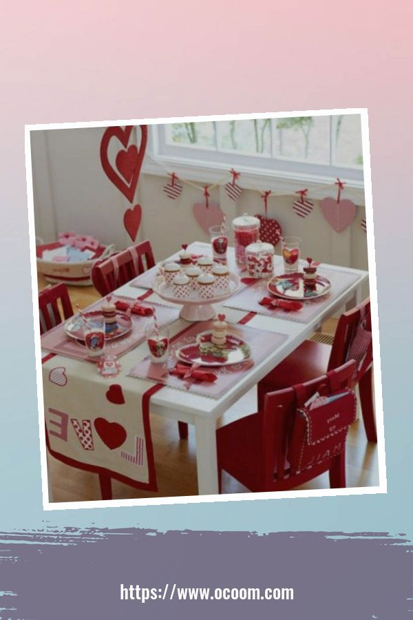 20+ Fabulous Red Home Decor Ideas For Valentines Day 4