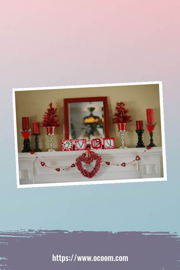 20+ Fabulous Red Home Decor Ideas For Valentines Day 7