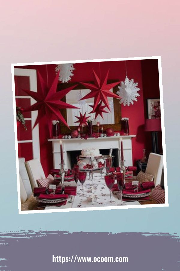 20+ Fabulous Red Home Decor Ideas For Valentines Day 8
