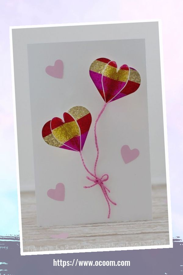 20+ Marvelous Heart Card Ideas For Your Valentines Day 11