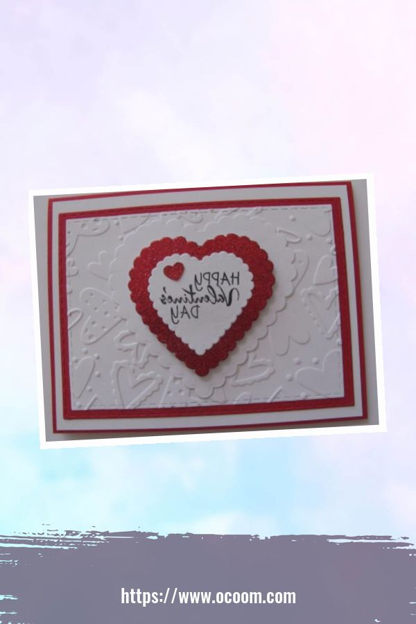 20+ Marvelous Heart Card Ideas For Your Valentines Day 21