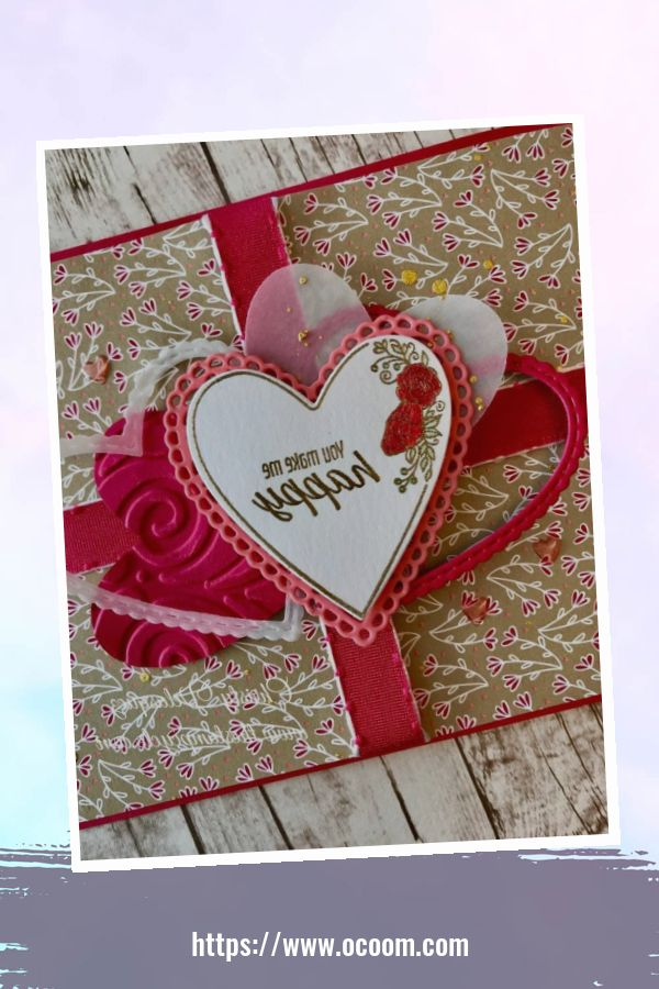 20+ Marvelous Heart Card Ideas For Your Valentines Day 31