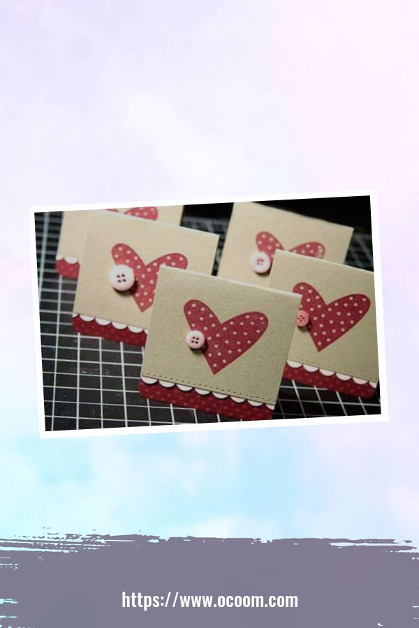 20+ Marvelous Heart Card Ideas For Your Valentines Day 32