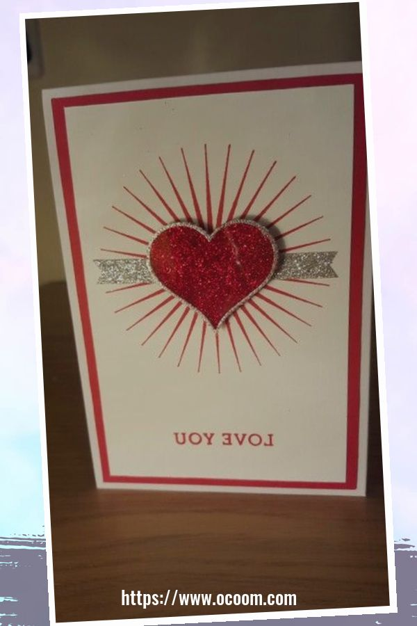 20+ Marvelous Heart Card Ideas For Your Valentines Day 39