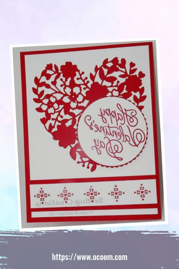 20+ Marvelous Heart Card Ideas For Your Valentines Day 44