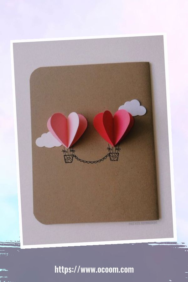 20+ Marvelous Heart Card Ideas For Your Valentines Day 47
