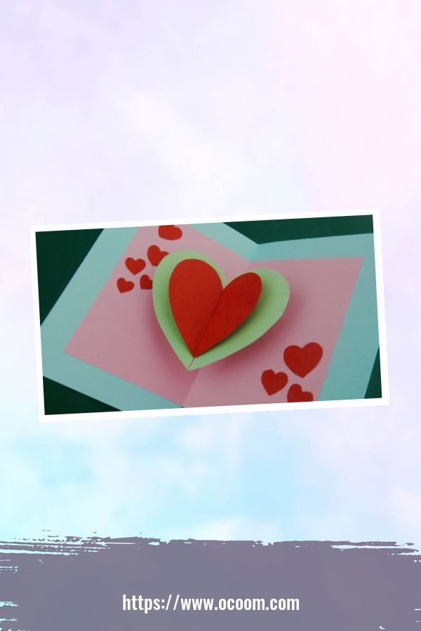 20+ Marvelous Heart Card Ideas For Your Valentines Day 8