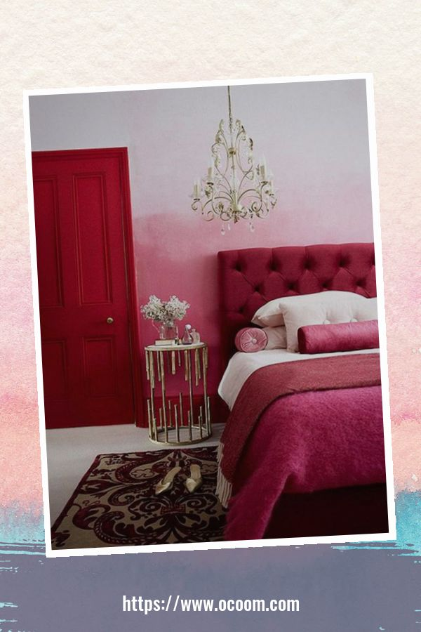 20+ Unique Red And Pink Bedroom Decor For Valentines Day 12