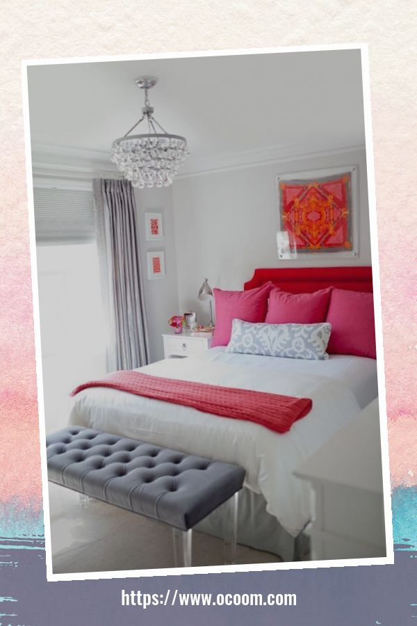 20+ Unique Red And Pink Bedroom Decor For Valentines Day 2