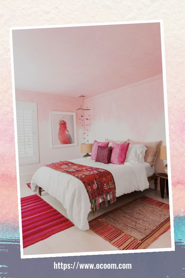 20+ Unique Red And Pink Bedroom Decor For Valentines Day 4