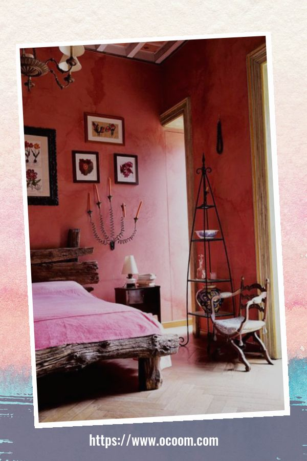 20+ Unique Red And Pink Bedroom Decor For Valentines Day 47