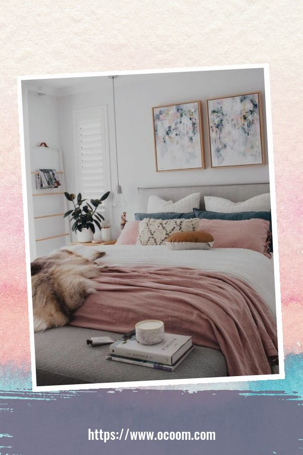 20+ Unique Red And Pink Bedroom Decor For Valentines Day 5