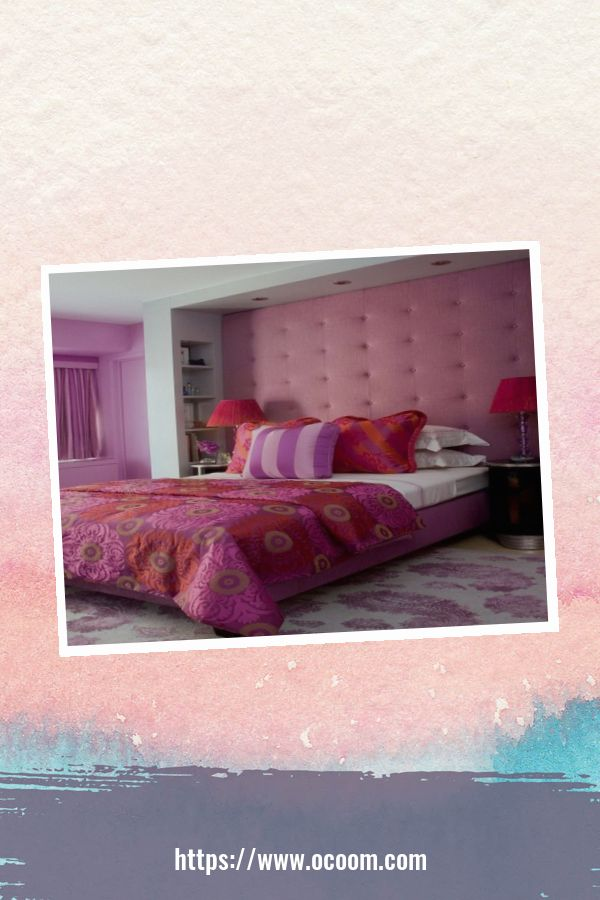 20+ Unique Red And Pink Bedroom Decor For Valentines Day 7