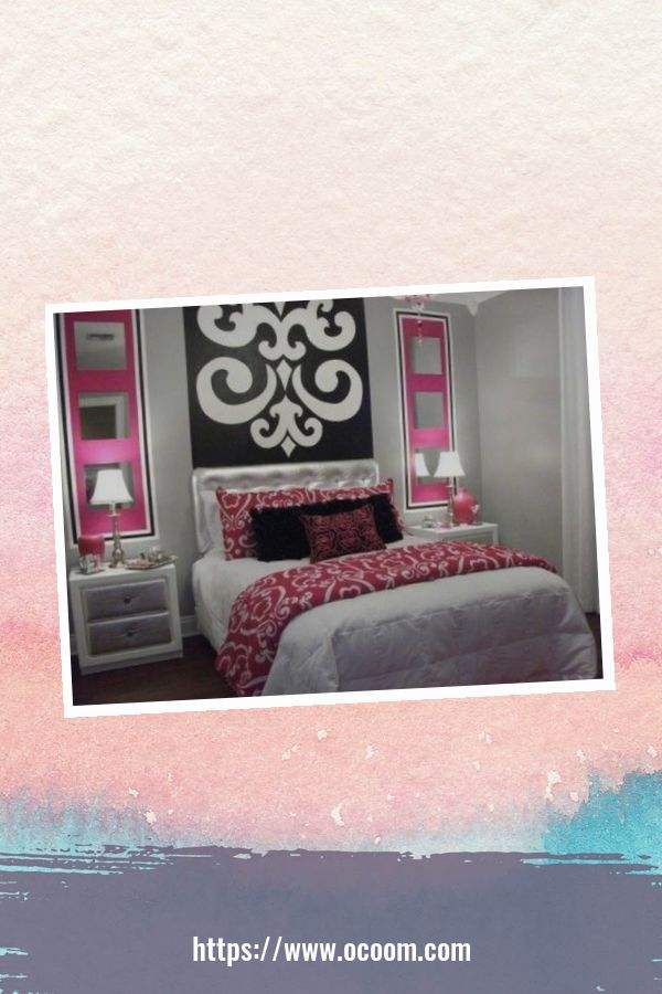 20+ Unique Red And Pink Bedroom Decor For Valentines Day 9