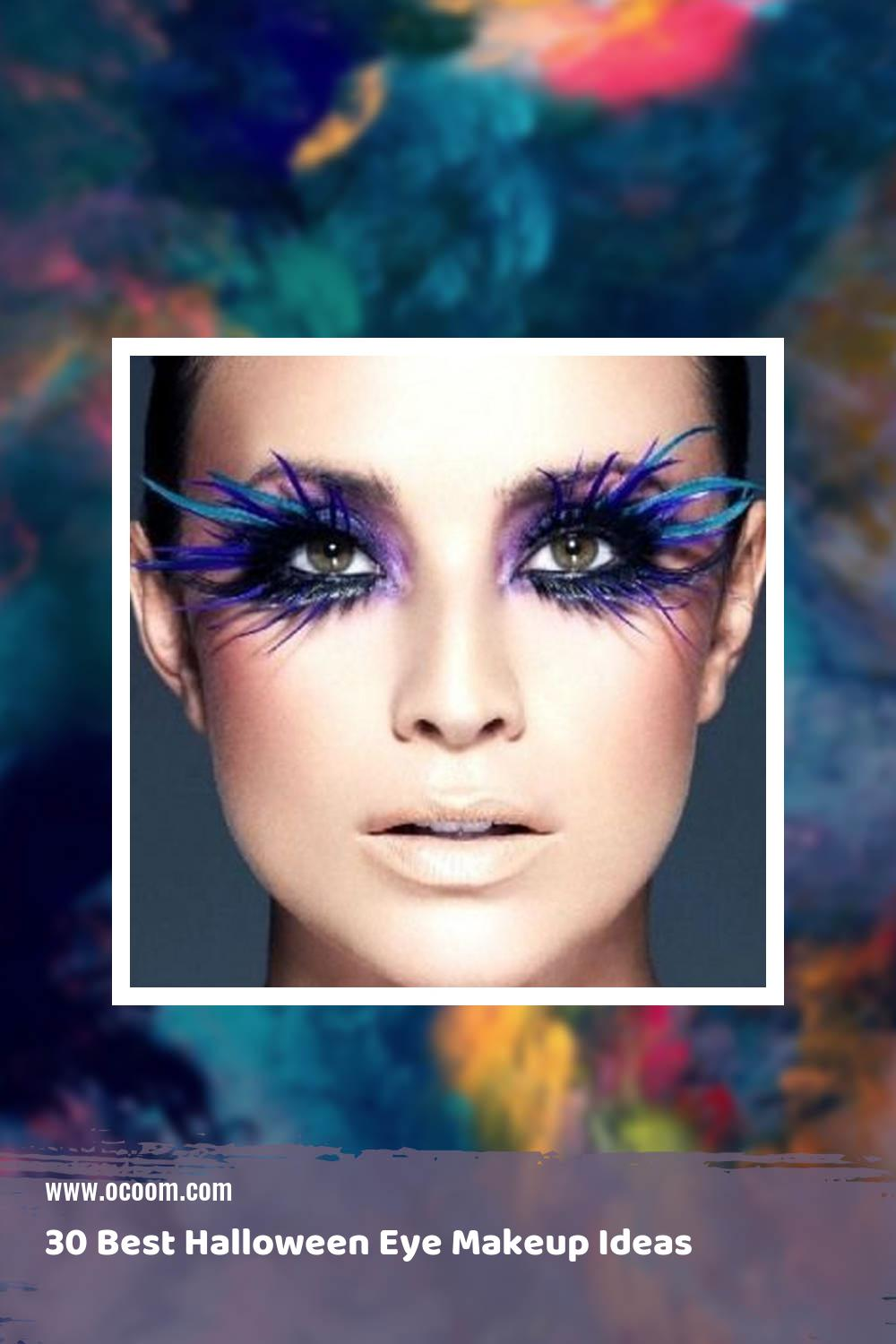 30 Best Halloween Eye Makeup Ideas 2