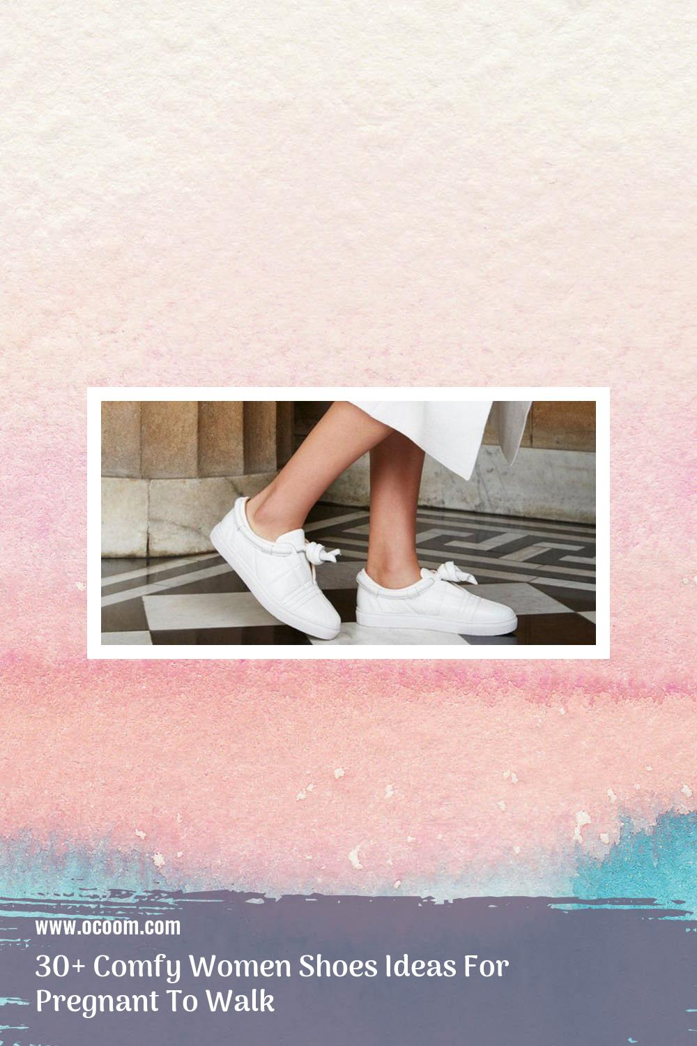 30+ Comfy Women Shoes Ideas For Pregnant To Walk 11