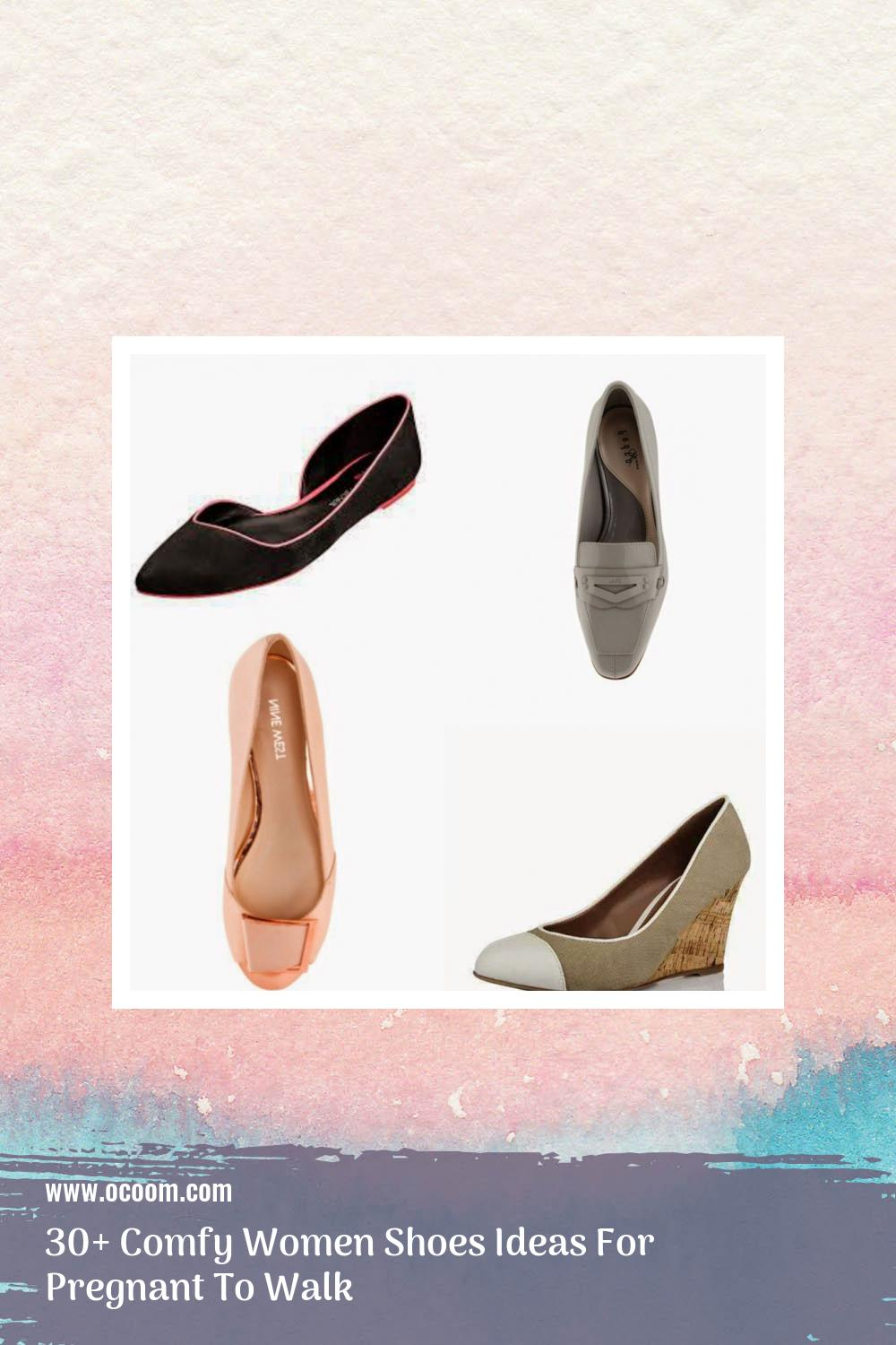 30+ Comfy Women Shoes Ideas For Pregnant To Walk 6