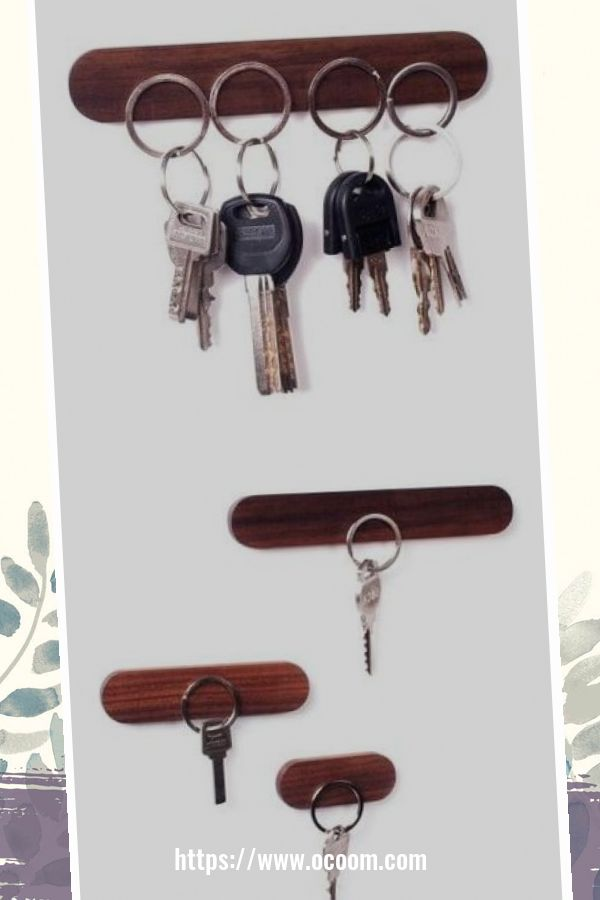 30+ Easy And Simple Key Organizer Ideas You Can Make From Wood 1