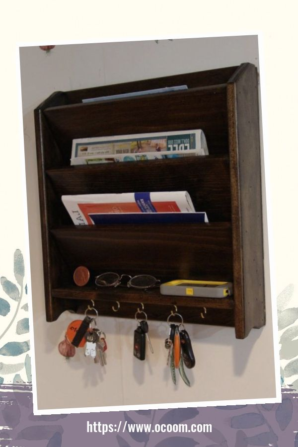 30+ Easy And Simple Key Organizer Ideas You Can Make From Wood 14