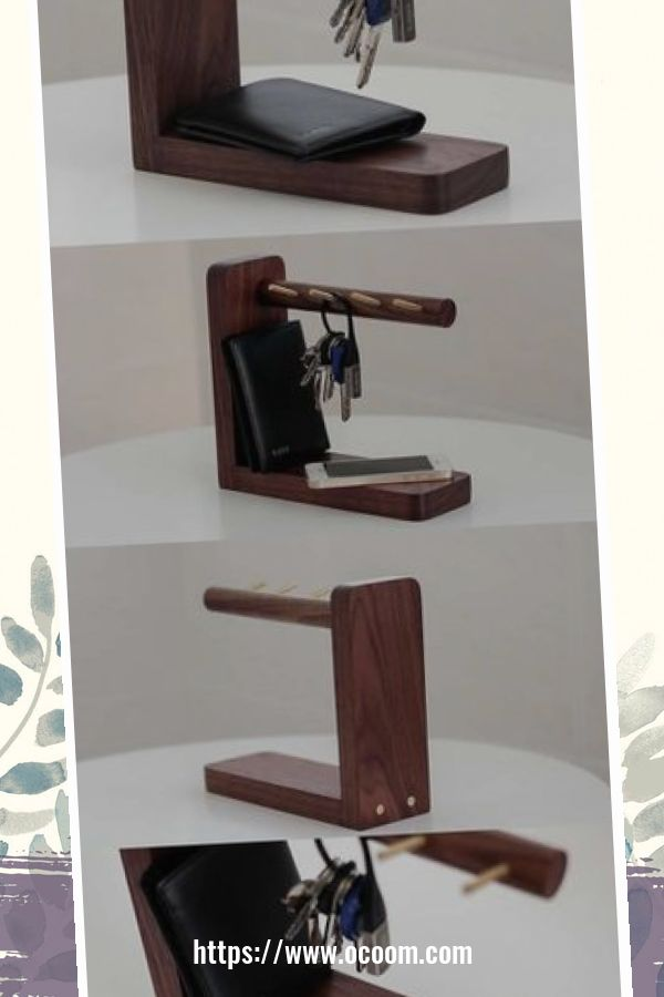 30+ Easy And Simple Key Organizer Ideas You Can Make From Wood 20