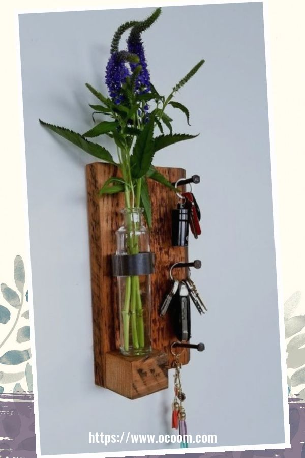 30+ Easy And Simple Key Organizer Ideas You Can Make From Wood 6