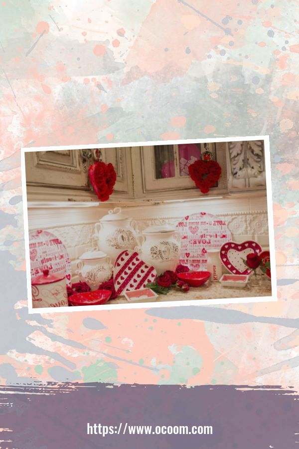 30+ Fantastic Valentines Day Decor Ideas For Your Kitchen 1