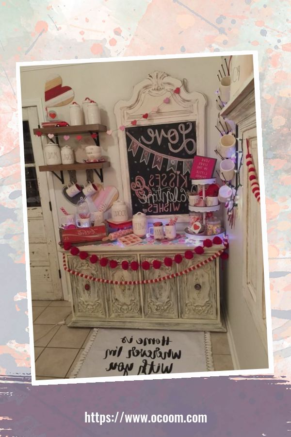 30+ Fantastic Valentines Day Decor Ideas For Your Kitchen 11
