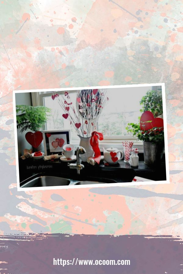 30+ Fantastic Valentines Day Decor Ideas For Your Kitchen 13