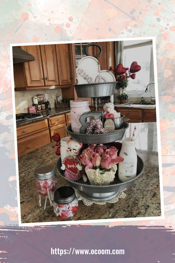 30+ Fantastic Valentines Day Decor Ideas For Your Kitchen 26