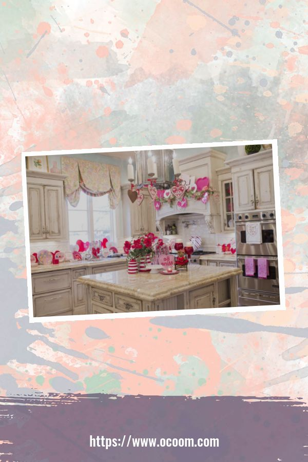 30+ Fantastic Valentines Day Decor Ideas For Your Kitchen 33