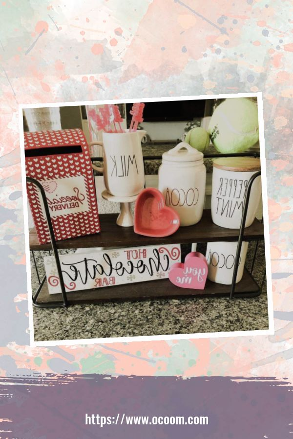 30+ Fantastic Valentines Day Decor Ideas For Your Kitchen 37
