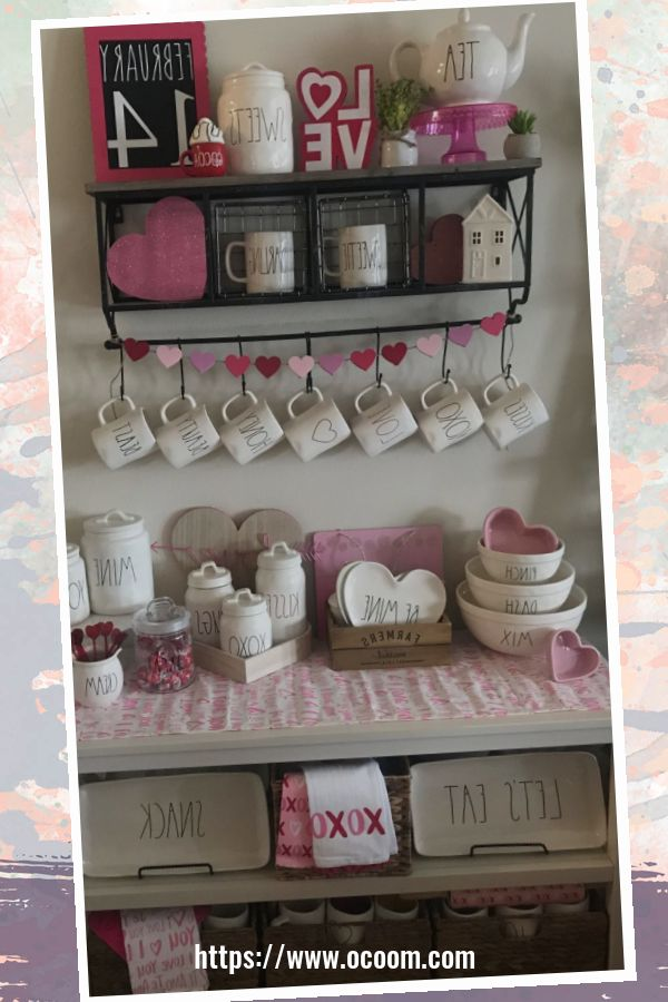 30+ Fantastic Valentines Day Decor Ideas For Your Kitchen 41