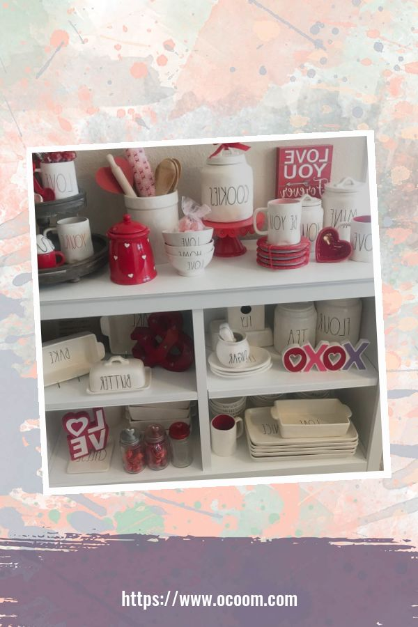 30+ Fantastic Valentines Day Decor Ideas For Your Kitchen 42