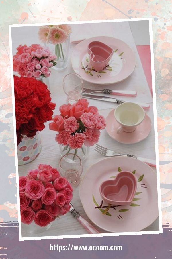 30+ Fantastic Valentines Day Decor Ideas For Your Kitchen 43