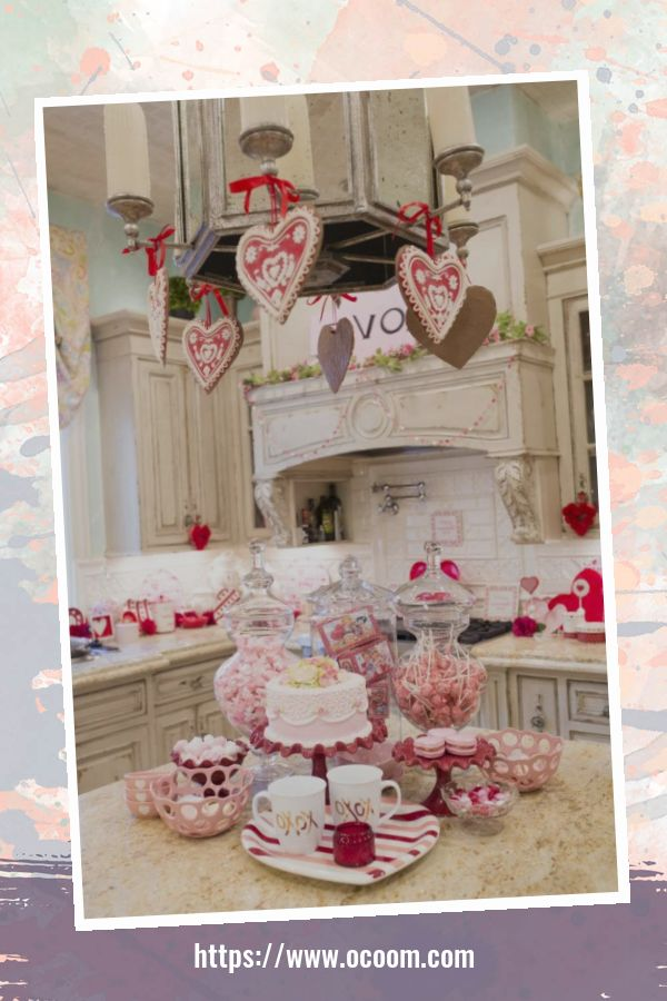 30+ Fantastic Valentines Day Decor Ideas For Your Kitchen 44