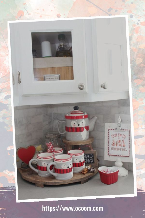 30+ Fantastic Valentines Day Decor Ideas For Your Kitchen 45
