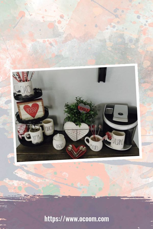 30+ Fantastic Valentines Day Decor Ideas For Your Kitchen 6