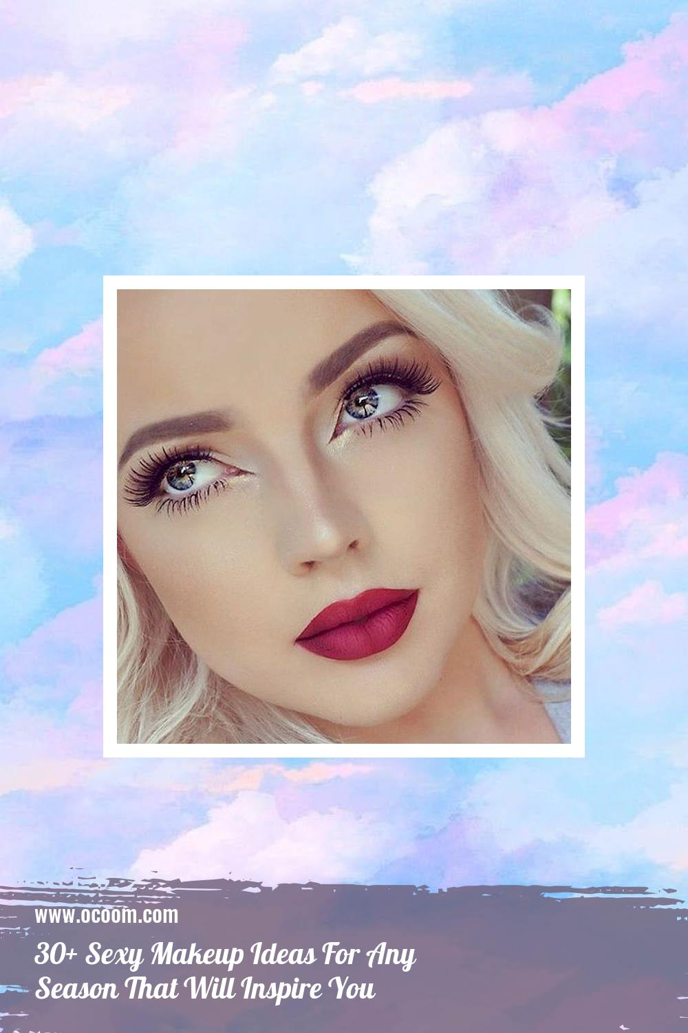 30+ Sexy Makeup Ideas For Any Season That Will Inspire You 15