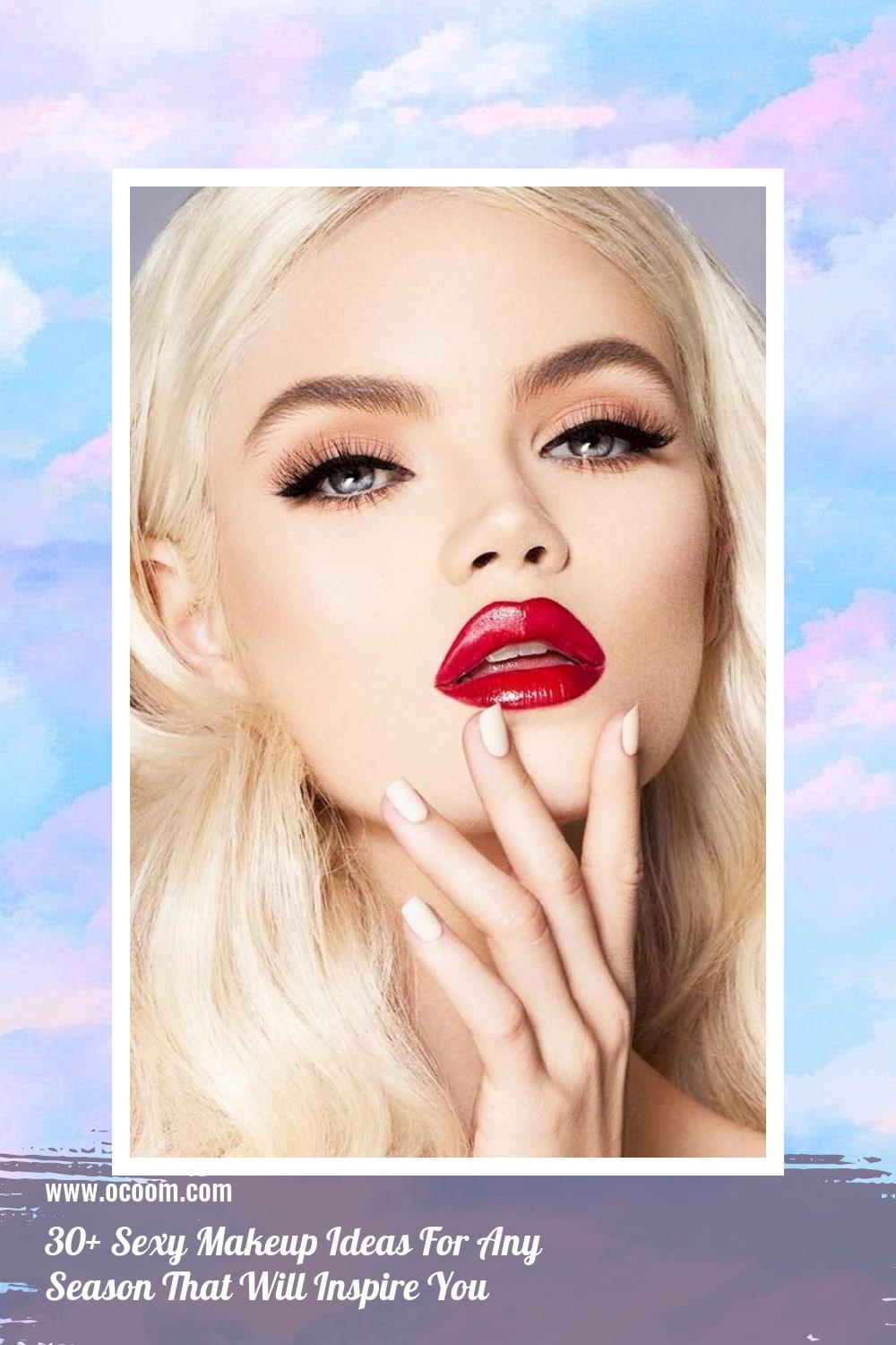 30+ Sexy Makeup Ideas For Any Season That Will Inspire You 33
