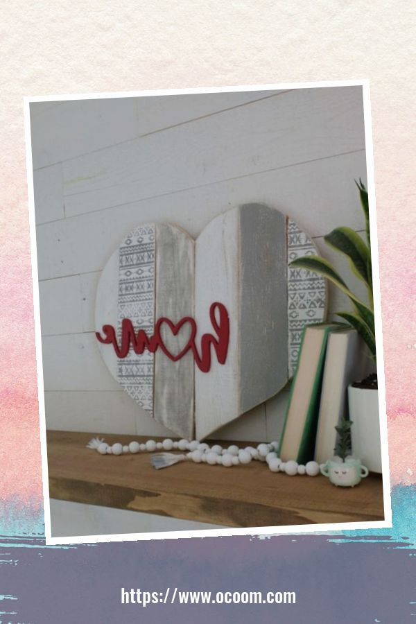 30+ Simple Wooden Signs For Valentines Day 1