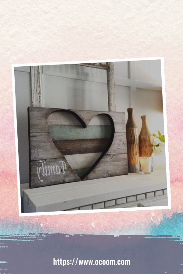 30+ Simple Wooden Signs For Valentines Day 2
