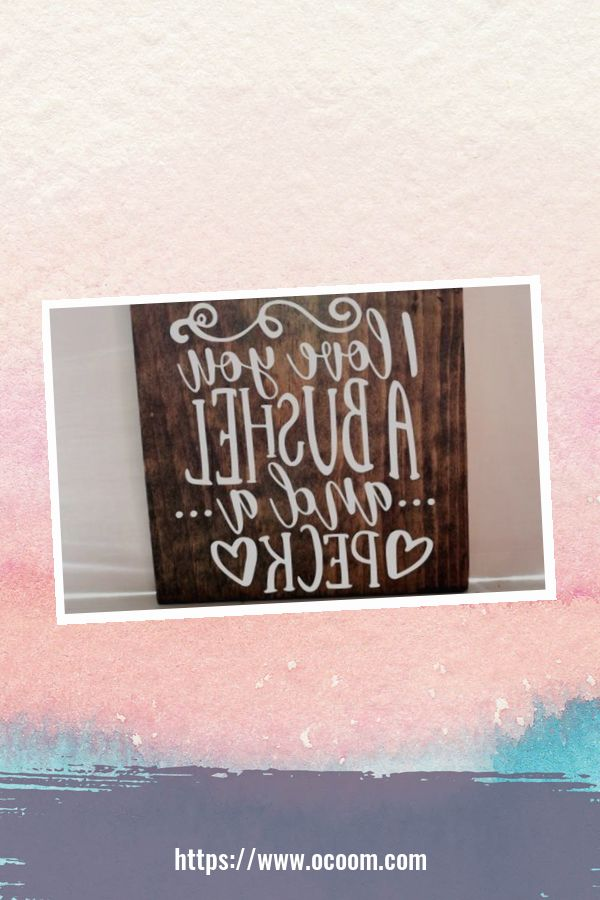 30+ Simple Wooden Signs For Valentines Day 22