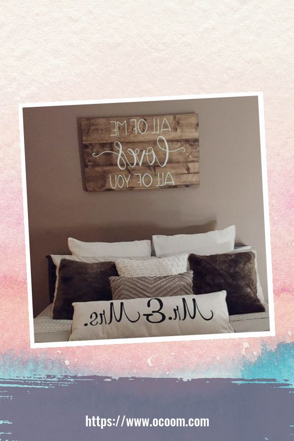 30+ Simple Wooden Signs For Valentines Day 33