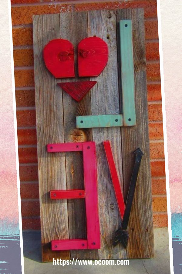 30+ Simple Wooden Signs For Valentines Day 4