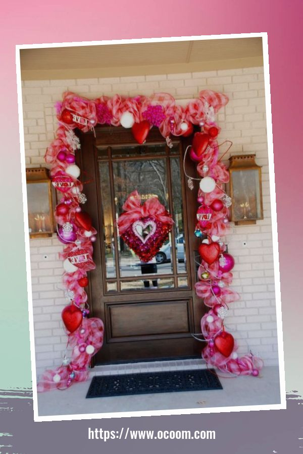 30+ Stunning Outdoor Decoration Ideas For Valentines Day 17