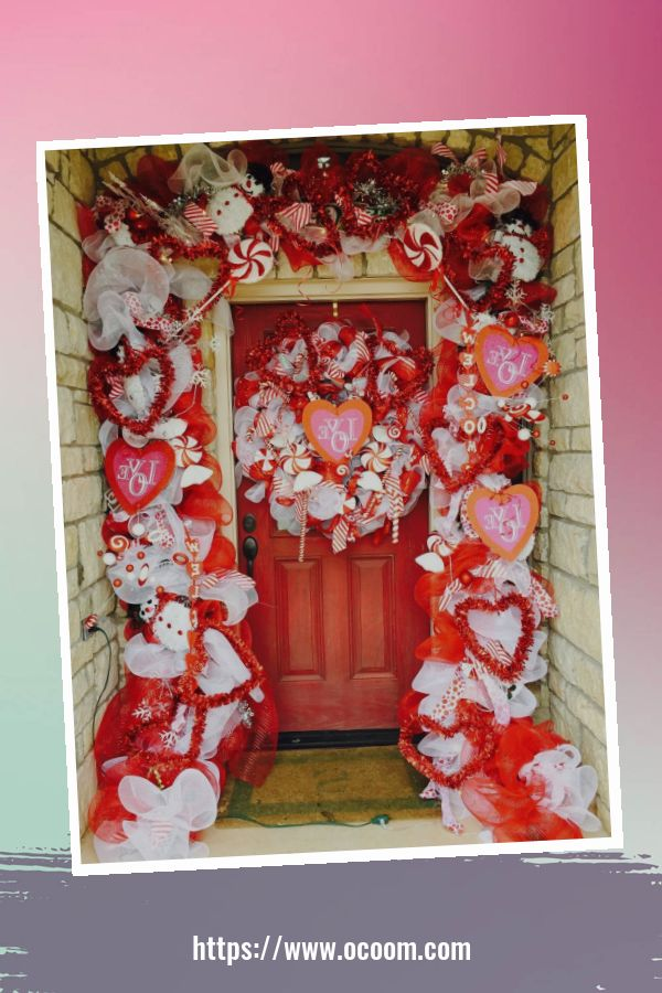 30+ Stunning Outdoor Decoration Ideas For Valentines Day 22