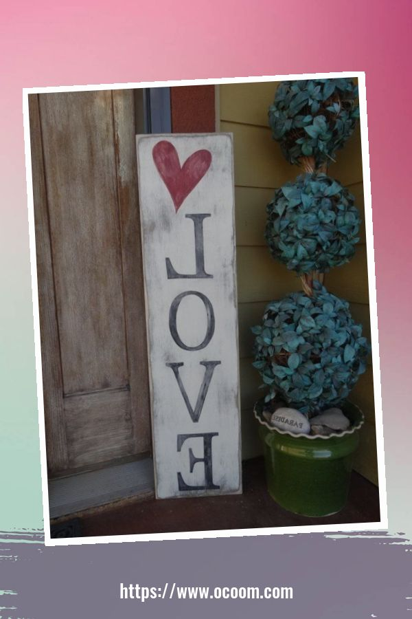 30+ Stunning Outdoor Decoration Ideas For Valentines Day 25